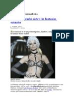 Mitos y verdades sobre las fantasías sexuales