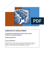 Syllabus Democratic Development Spring 2013