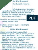 10 Ethics & Environment