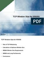 TCP Window Size for WWAN