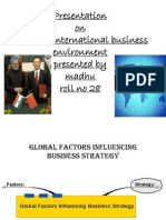 international buisness environment