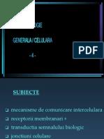 4 Semnale Inter- Si Intra-celulare