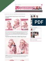 Tutorial Memakai Jilbab Segi Empat Untuk Wajah Lembut 31.HTML