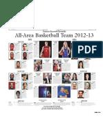 Denton Record-Chronicle 2012-13 All-Area Basketball Team