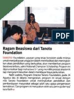 20110921 - Gatra - p103 - Ragam Beasiswa Dari Tanoto Foundation