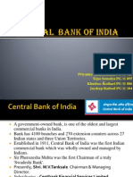 Central Bank of India Presentation