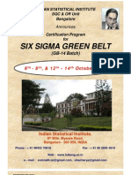 Six Sigma Contents