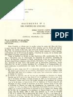 Del Partido de Atacama Cañete 1974
