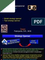 2 Strategi Operasi