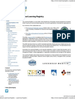 DOD - About Learning Registry - Learning Registry