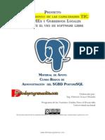 Curso Básico de Administración del SGBD PostgreSQL