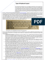 Type Keyboard Layout