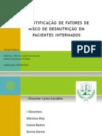 Apresentação Artigo - Estágio em nutrição clínica I
