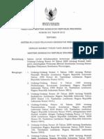 PMK No 001 Ttg Sistem Rujukan Pelayanan Kesehatan Perorangan