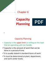 Ch.6 Capacity Planning