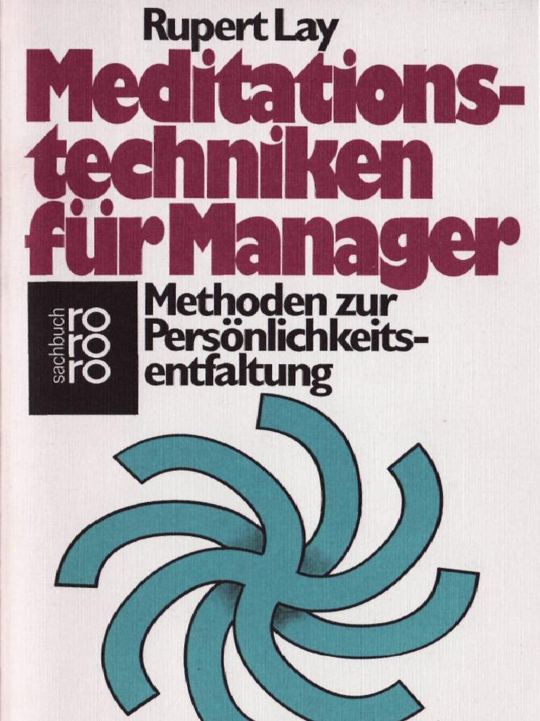 Meditationstechniken Fuer Managers