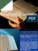 33399184 Textos Alterados Da Biblia