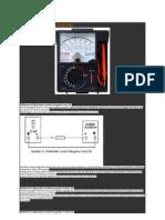 Multimeter Analog 2