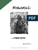 La Metamorfosis de Kafkaa