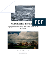 Glenrothes 1948 to 1998.  A geographical study of the 'New Town' in its 50th year.  Malcolm Sutherland, 1998