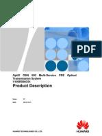 OptiX OSN 550 V100R006C01 Product Description V1.1(20121031)