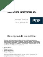 TP labo V - Consultora Informática SA