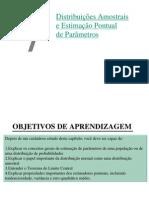 1- Apresentação sobre distribuição Amostral