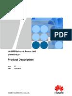 UA5000 V100R019C01 Product Description