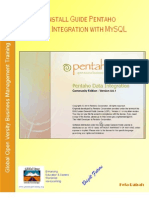 19761022 Install Guide Pentaho Data Integration With MySQL Database