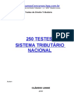 250 Questoes Direito Tributario ESAF
