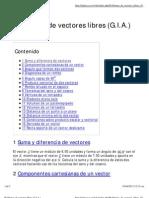 Problemas de Vectores Libres (G.I.a.)