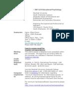 edf 619 educational psychology