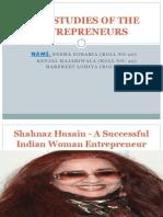 Case Studies of the Entrepreneurs
