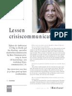 iBestuur - crisiscommunicatie2.0