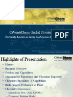CiVentiChem India Presentation - 2012.ppt