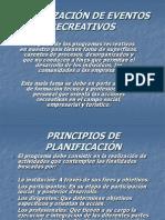 ORGANIZACIÓN DE EVENTOS RECREATIVOS
