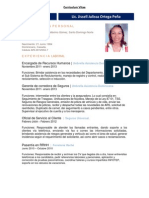 CV Jissell Ortega 2013