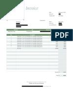 animation invoice