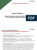 9.1.0 Branch Prediction Pentiums IBM PPC