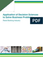 Analytics for Retail Banking Marketelligent
