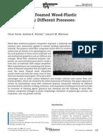 Microcellular Foamed Wpc