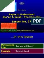 Quran e27 Last