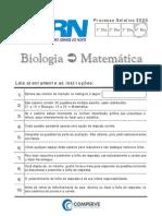 UFRN_2005_Prova_Biologia_Matemática