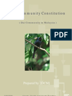 DCM Constitution by DTS