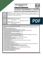 Plan y Programa de Evaluacion 5 HIST MEXICO