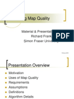 Calculating a Map Quality Metric for DDM