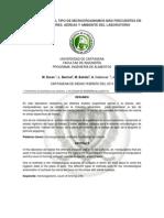 DETERMINACIÓN DEL TIPO DE MICROORGANISMOS MÁS FRECUENTES EN MANIPULADORES