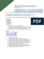 La ficha de menú Inicio Excel es una barra horizontal que forma parte de la cinta de opciones de Excel y contiene los botones de comando que normalmente se utilizan para crear