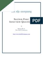 Section 4 Interview Questicvbcbvons