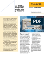 Calibration of Power Quality and Energy Meters